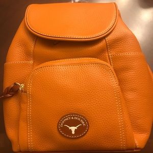 NWT Texas Longhorns Dooney & Bourke Backpack